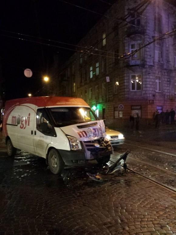 ДТП на Стрийській у Львові. Фото