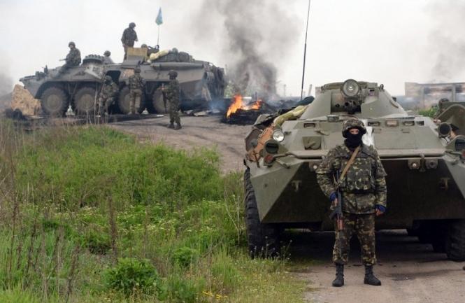 Обстановка на Донбасі стрімко погіршується. Мапа АТО