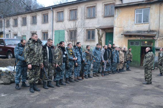 Батальйон «Львів» повернувся з-під Дебальцевого