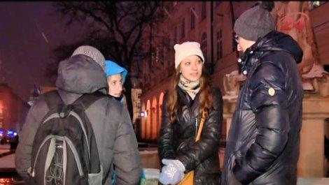 Львовяне записали видеообращение к россиянам (Видео)