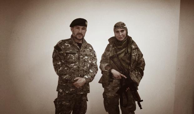 У Дніпропетровськ привезли тіло чеченського командира Іси Мунаєва, який воював в рядах української армії