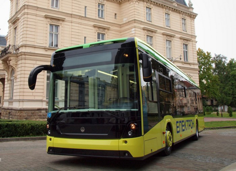 Перший український електробус перевозитиме львів'ян