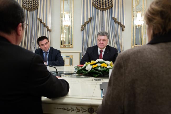 Порошенко назвав зустріч у Мінську найважливішою за свого президентства