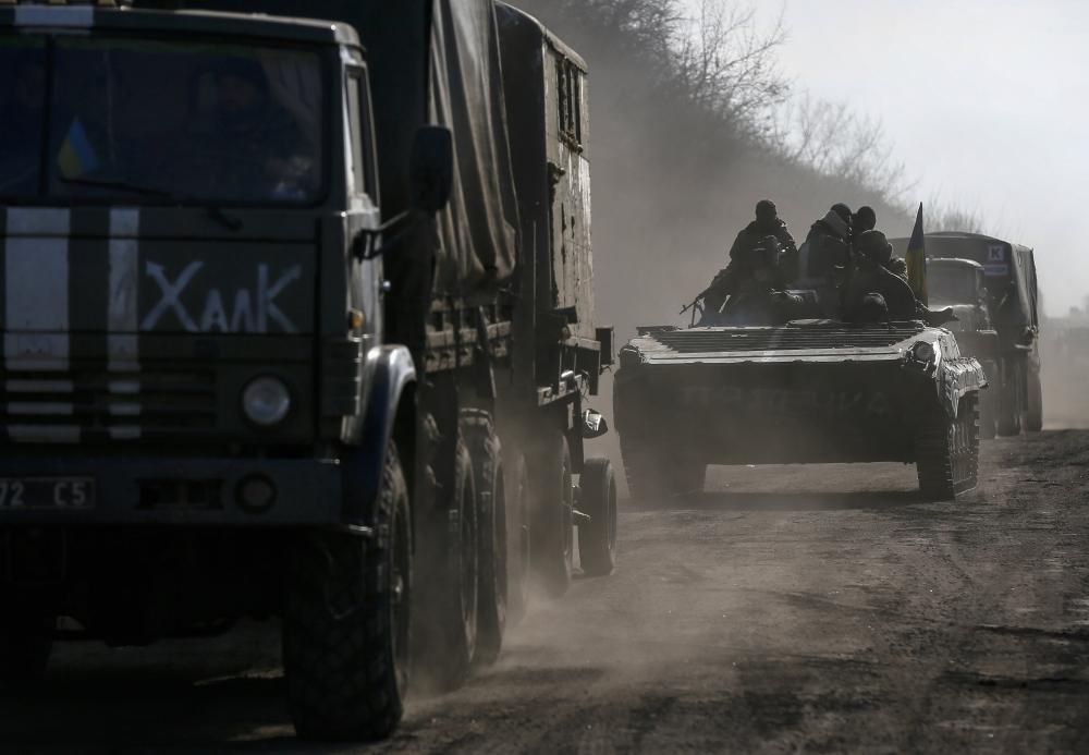 Україна відведе важку техніку, якщо терористи 2 доби не стрілятимуть – штаб АТО