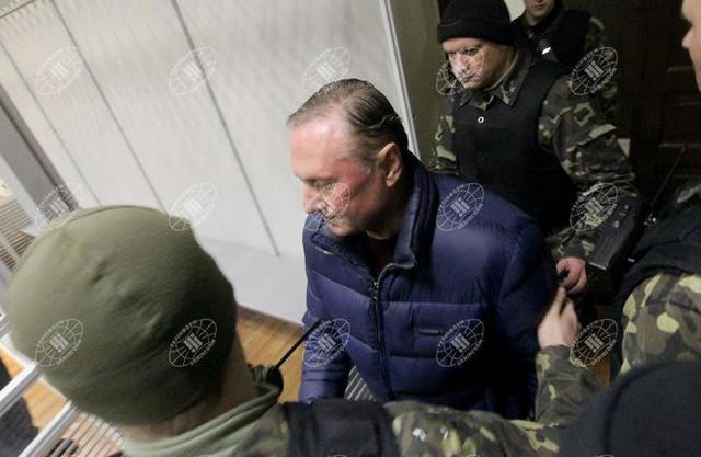 Суд заарештував Єфремова з можливістю виходу під заставу в 3,7 млн гривень (ФОТО)
