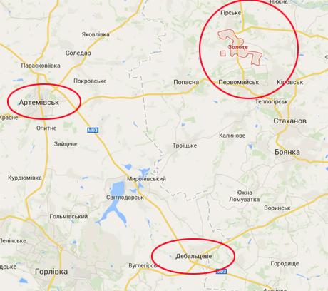 СМИ: На Луганщине обстреляны силы АТО. В Генштабе не в курсе