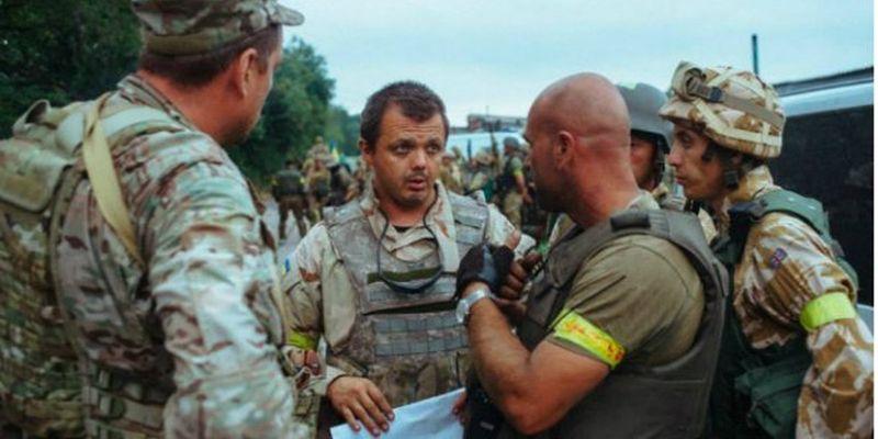 У Семенченко, крім контузії, переломи і пробита легеня, – Філатов