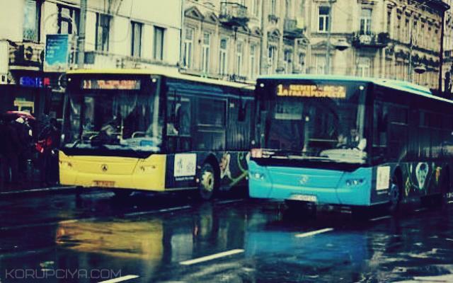 У Львові всі автобуси обладнали GPS-приймачами