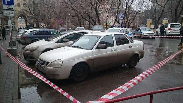В Москве нашли автомобиль убийц Немцова