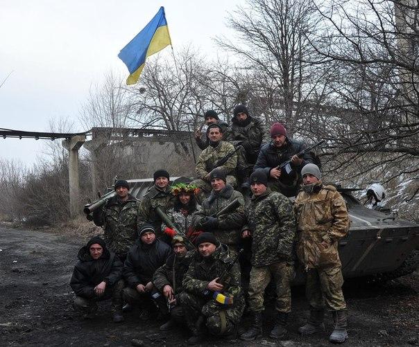 Бійці АТО спалили бензовоз і знищили ЗУ 23-2 бойовиків під Широкіним, – Шкіряк