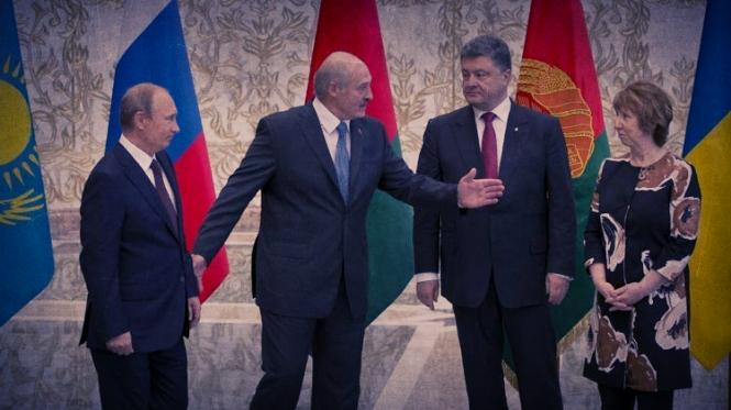 Паралельно у Мінську засідає контактна група щодо врегулювання миру в Україні