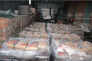 На ул. Промышленной изготавливали фальсифицированный цемент