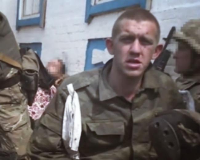 СБУ показала новое видео с пленными русскими военными срочниками