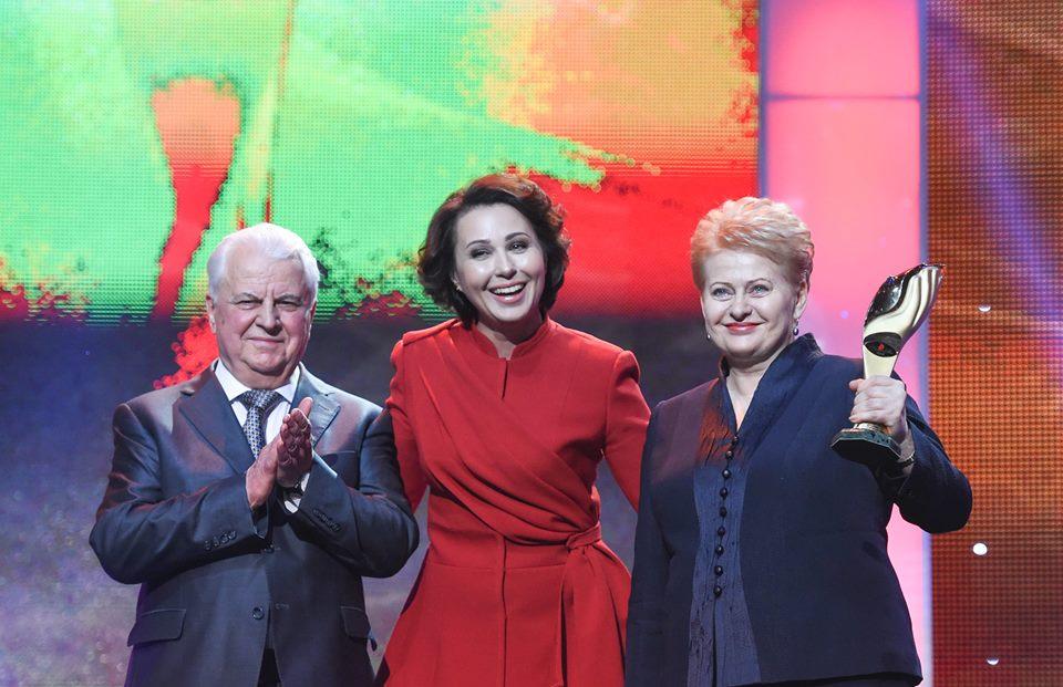 Грібаускайте вручили премію «Людина року-2014» (ФОТО)