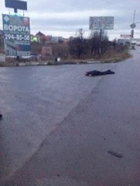 На Кольцевой дороге г. Львова нашли мертвого мужчину (ФОТО)