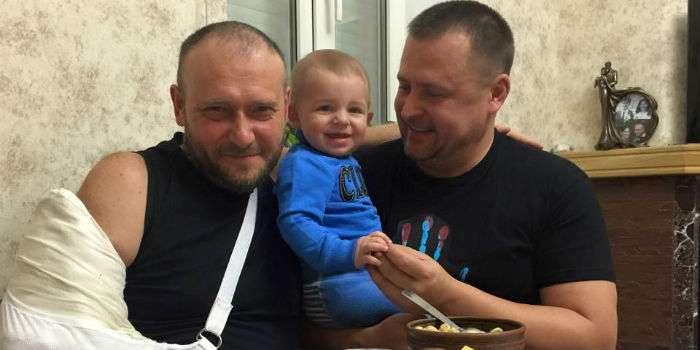 Фейсбук Філатова заблоковано з Москви за фото з Ярошем (ФОТО)