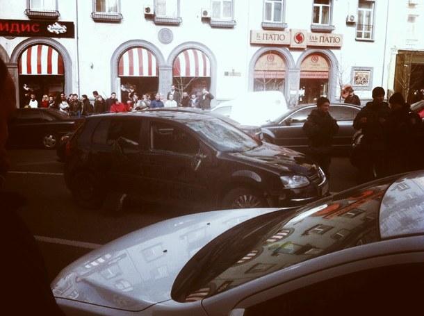 Міліція розповіла подробиці стрілянини в центрі Києва