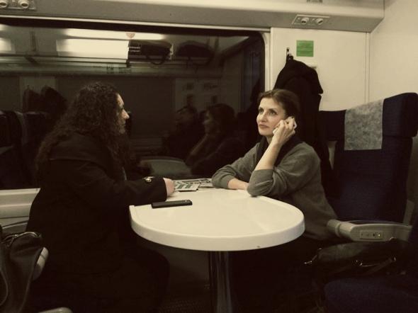 """Марину Порошенко вчора """"застукали"""" в загальному вагоні потяга (ФОТО)"""