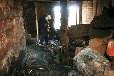 У Радехові в гаражі знайшли обгоріле тіло чоловіка