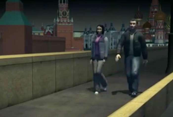 Убийство Немцова: воспроизведение преступления с помощью компьютерной видеографики (ФОТО, ВИДЕО)