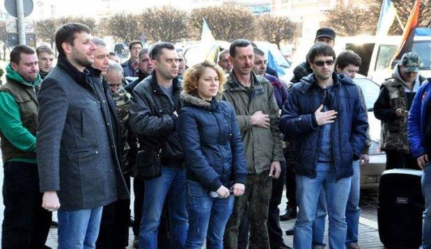 Парасюк прогуливает заседания ВР через пикет прокуратуры Львовщины (фото)