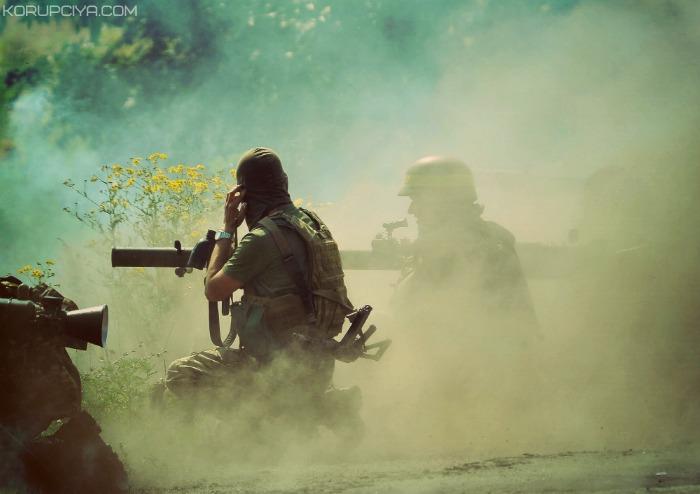 Террористы обстреливают Пески световыми минами