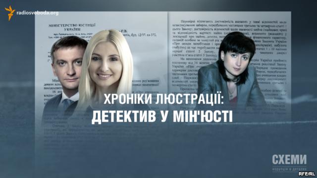 Хроніки люстрації: детектив у Міністерстві юстиції