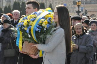 У Львові вшанували Тараса Шевченка  (Фото)