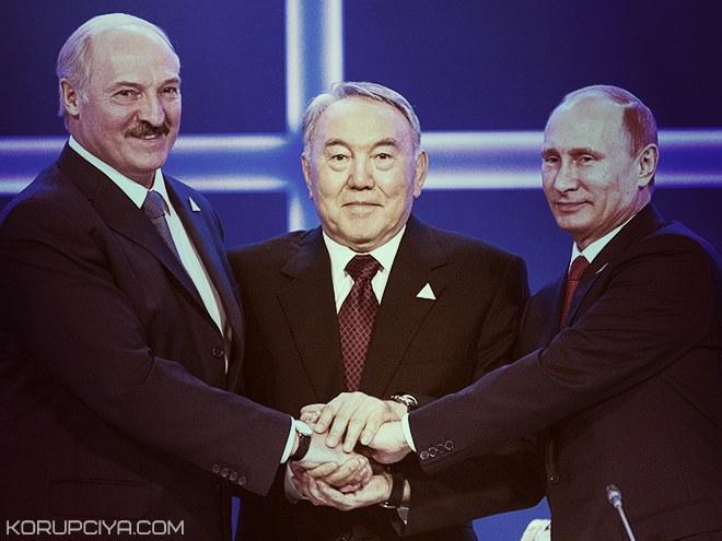 Путин, Лукашенко и Назарбаев поговорят об Украине в Астане
