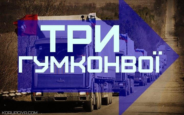 """Росія анонсує відправку відразу трьох """"гумконвоїв"""" у березні"""