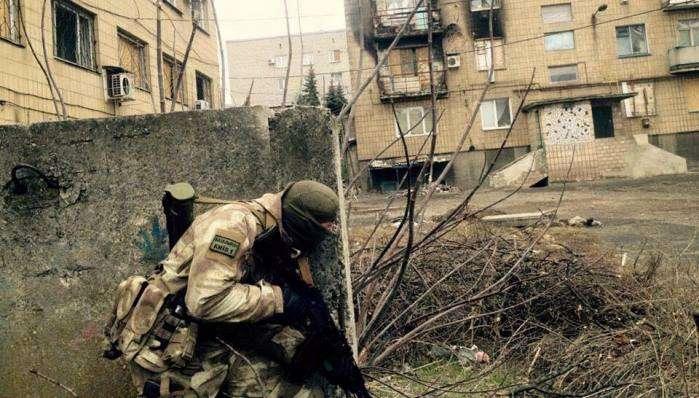 Киев-1» ликвидировал логово боевиков в Марьинке