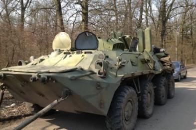 На Львовщине отремонтируют еще два бронетранспортера для десантников (ФОТО)