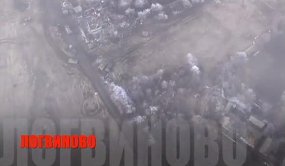 Волонтери виклали відео аероразвідки з Дебальцевого і Логвиново (відео)