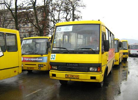 Сегодня во Львове на маршруты не выехали 33 автобусы