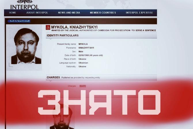 Інтерпол скасував розшук нардепа Княжицького – Аваков