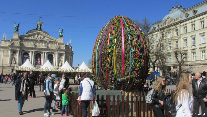 До Львова традиційно приїхали святкувати Великдень туристи з інших регіонів України