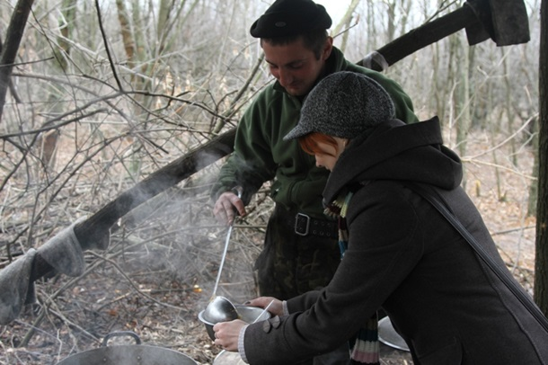В РНБО показали побут військових на блокпосту в Донецькій області (ФОТО)