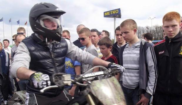 ДТП на Городоцькій: Мотоцикліст врізався в авто  (фото)