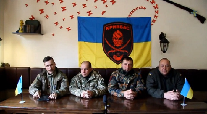 """Офіцери батальйону """"Кривбас"""": комусь потрібне наше розформування (ВІДЕО)"""
