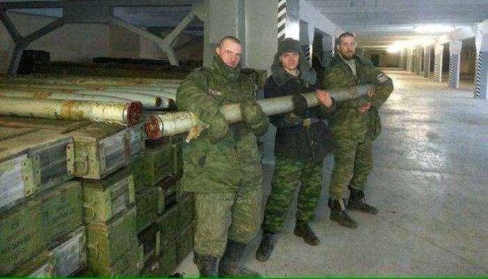 У підвалі «Донбас Арени» бойовики розмістили склад боєприпасів (ФОТО)