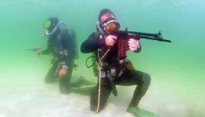 После атаки ДРГ, россияне не могут найти 18 боевых пловцов РФ