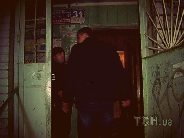 На місці вбивства Калашнікова пограбували його невістку (ФОТО)