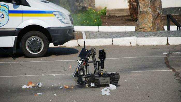У Києві попередили вибух біля ще одного банку