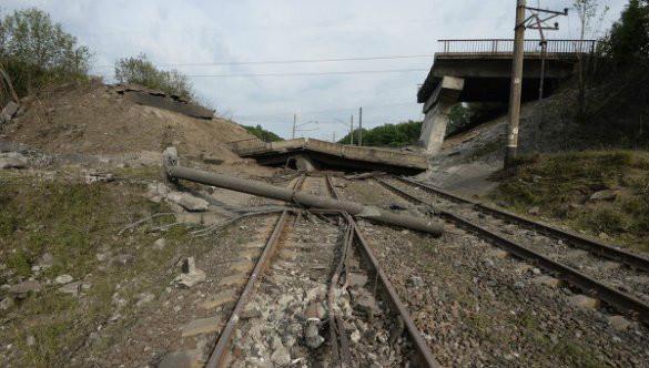 У Харківській обл. стався вибух на залізничному шляху