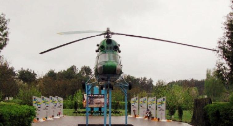 У Бродах відкрили Алею Слави військових льотчиків, які загинули на Донбасі