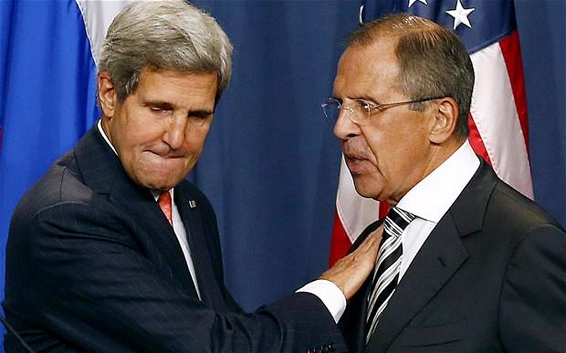 Керрі й Лавров по телефону говорили про Донбас
