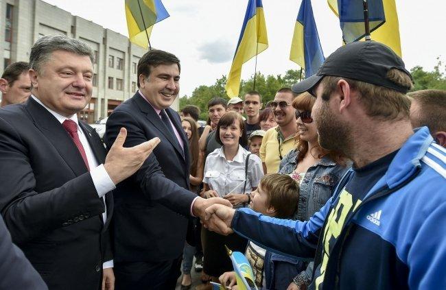 Саакашвили дал свое первое интервью на посту одесского губернатора (ВИДЕО)