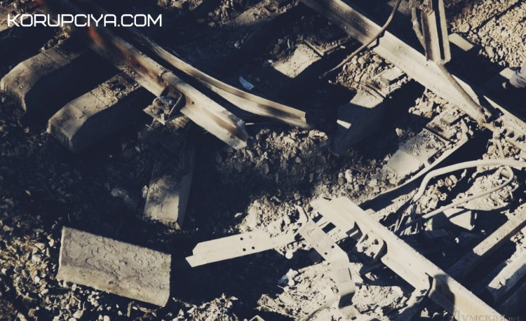 На Луганщині підірвали залізницю. Рух потягів на окуповану територію зупинено