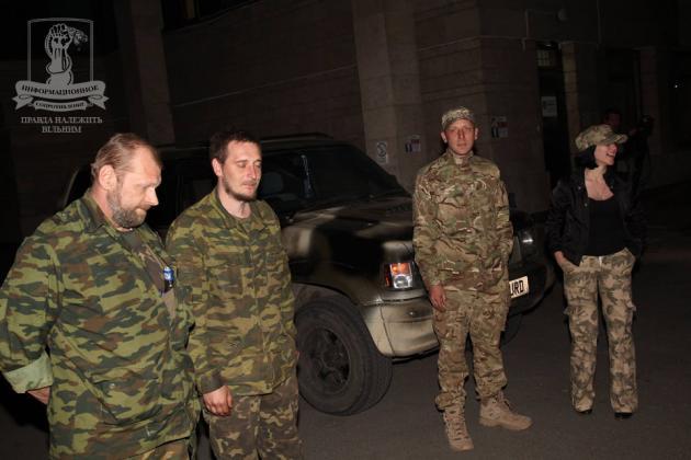 Из плена террористов освободили двух нацгвардийцив (ФОТО)