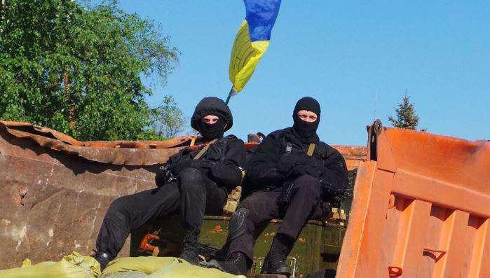Украинские партизаны похитили у боевиков два автомобиля (ФОТО)